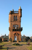 National Burns Memorial Tower. The Mauchline's National Burns Memorial Tower was opened 7th May 1898 Stock Photos