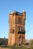 National Burns Memorial Tower. The Mauchline's National Burns Memorial Tower was opened 7th May 1898 Royalty Free Stock Photos