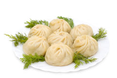 National Buryat (Mongolian) Food Stock Image