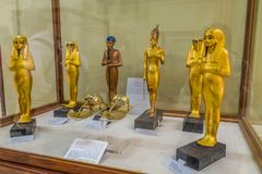 National Cairo Museum Expans dedicated to Ancient Egypt, Pharaohs, Mummies and Egyptian Pyramids stock image