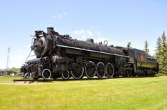 National canadien de locomotive à vapeur photos libres de droits