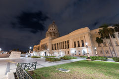 National Capital Building - Havana, Cuba Stock Images