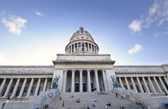 National Capitol Building in Havana, Royalty Free Stock Photography