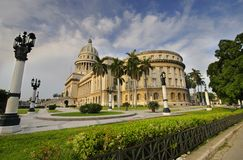 National Capitol building. HAVANA - 9 JULY, 2010. Royalty Free Stock Photos