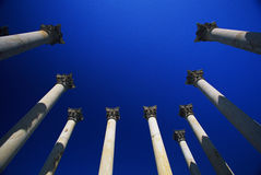 National Capitol Columns Royalty Free Stock Photos