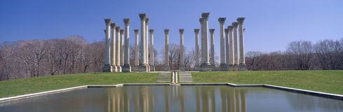 National Capitol Columns Royalty Free Stock Photo