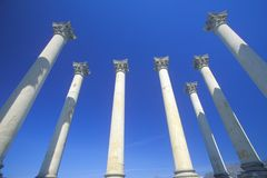 National Capitol Columns Stock Images