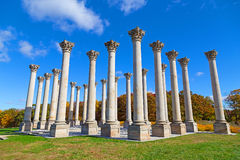 National Capitol Columns at sunset Royalty Free Stock Photography
