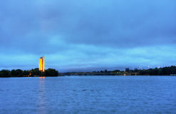 The National Carillion in Canberra Royalty Free Stock Photo