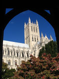 National Cathedral. And Blue Sky Stock Photos