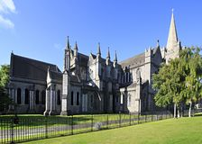 National Cathedral and Collegiate Church of Saint Royalty Free Stock Photos