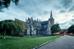 St Patrick Cathedral Dublin Stock Image