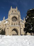 National Cathedral in December Stock Image