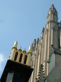 National Cathedral Detail Royalty Free Stock Images