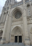 The National Cathedral portal Royalty Free Stock Photo