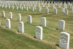National Cemetary Royalty Free Stock Photo