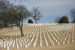National Cemetery royalty free stock photography