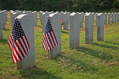 National cemetery Royalty Free Stock Image