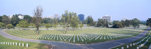 National Cemetery Royalty Free Stock Photos