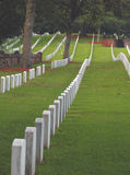 National Cemetery. The National Cemetery in Wilmington North Carolina for members of the military Royalty Free Stock Images