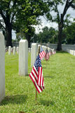 National Cemetery Flag Royalty Free Stock Image