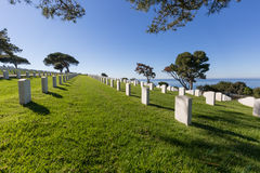 National Cemetery Stock Photo