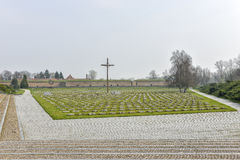 National cemetery in Terezin Stock Images