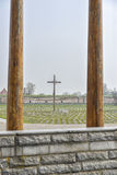 National cemetery in Terezin Stock Photography