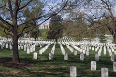 National Cemetery in Virginia Royalty Free Stock Photos
