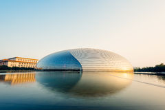National Centre for the Performing Arts, Beijing - China Royalty Free Stock Photo
