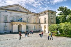 Neoclassic villa museum Royalty Free Stock Images