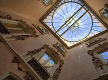 National Ceramics Museum, Valencia, Entry Foyer and Atrium Stock Photos