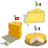 National cheese Royalty Free Stock Photos