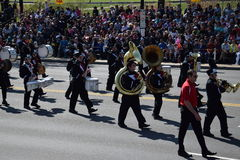 2016 National Cherry Blossom Parade in Washington DC Royalty Free Stock Images