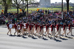 2016 National Cherry Blossom Parade in Washington DC Royalty Free Stock Photo