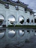 National Chiang Kai-shek Memorial Hall. Reflected National Chiang Kai-shek Memorial Hall Royalty Free Stock Photos