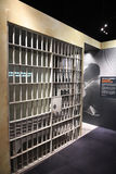 The National Civil Rights Museum in Memphis Tennessee. Memphis, TN, USA - June 9, 2017: Jail cell replica of where Dr. Martin Luther King Jr. was imprisoned, at stock photo
