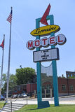 The National Civil Rights Museum in Memphis Tennessee. Memphis, TN, USA - June 9, 2017: The Lorraine Motel, site of the National Civil Rights Museum and the site royalty free stock photography