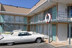 The National Civil Rights Museum in Memphis Tennessee. Memphis, TN, USA - June 9, 2017: Lorraine Motel where Dr. Martin Luther King Jr.was assassinated, and now royalty free stock photo