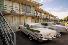 National Civil Rights Museum Downtown Memphis, TN. Memphis, Tennessee, USA  The Lorraine Motel in Memphis, Tennessee is the site of the assassination of Martin Royalty Free Stock Photo