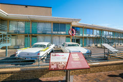 National Civil Rights Museum. MEMPHIS, USA - NOV 13: National Civil Rights Museum on November 13, 2016. It is built around the former Lorraine Motel, where Stock Photography