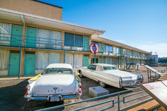 National Civil Rights Museum. MEMPHIS, USA - NOV 13: National Civil Rights Museum on November 13, 2016. It is built around the former Lorraine Motel, where Stock Photos