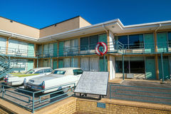 National Civil Rights Museum. MEMPHIS, USA - NOV 13: National Civil Rights Museum on November 13, 2016. It is built around the former Lorraine Motel, where Stock Image