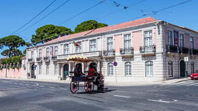 National Coach Museum in Lisbon stock video