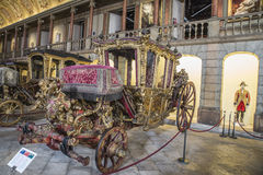 National Coach Museum (Lisbon, in Portugal) Stock Photography