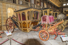 National Coach Museum (Lisbon, in Portugal) Stock Image