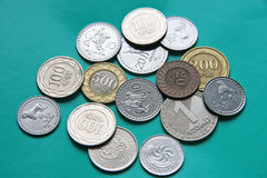 National coins Stock Image
