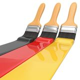 National Colours, Germany Royalty Free Stock Photography