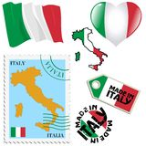 National colours of Italy Royalty Free Stock Images