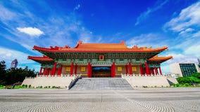 National Concert Hall at Chang Kai Shek (CKS) Memorial Hall, Taiwan stock footage